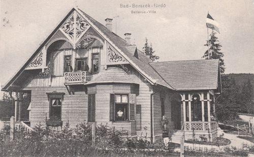 Borszék:Bellevue villa.1905