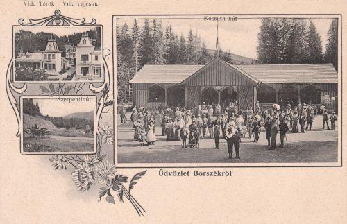 Borszék:Kossuth kút,1906