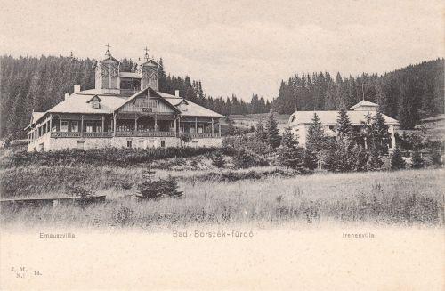 Emmausz (Cziffra) és Irén (Sauveur,Konzul,Bagolyvár) villa.1905