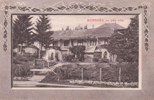 Borszék:Irén villa,későbbi nevén Bagolyvár nyaraló.1910