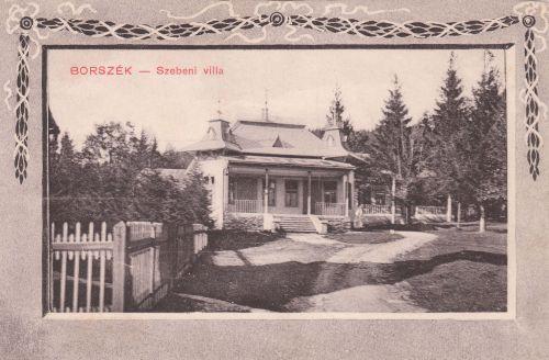 Borszék:Szebeni villa.1910