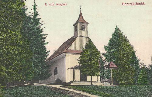 Borszék:római katolikus templom.1908