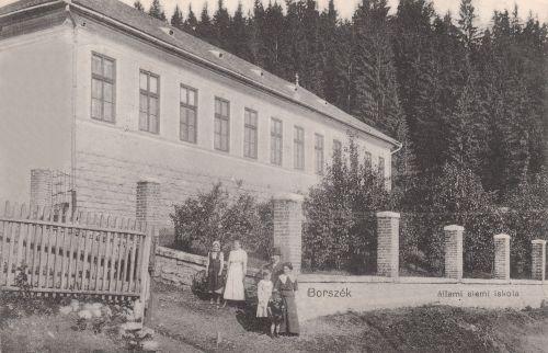 Borszék:régi állami elemi iskola.1912