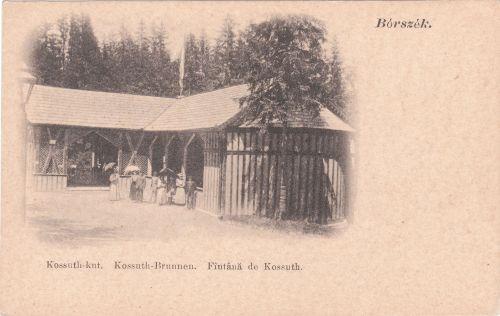 Borszék:Kossuth kút és forrás.1902