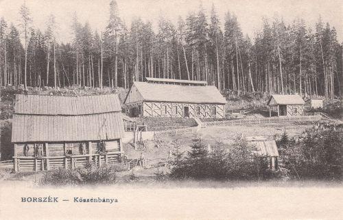 Borszék:szénbánya.1904
