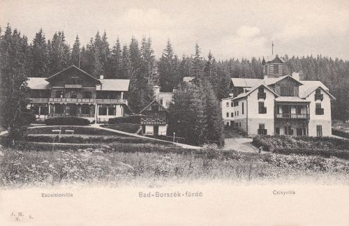 Excelsior-Tulipán és Csiki villa.1903