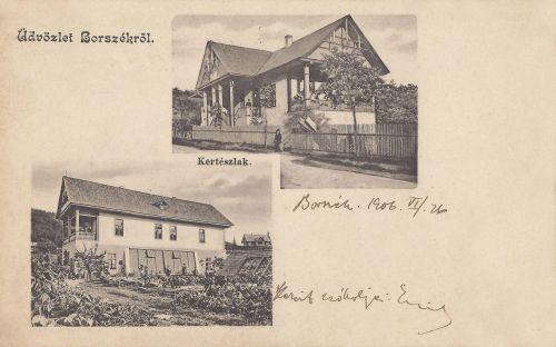Borszék:Kertész lak,Patka villa.1901