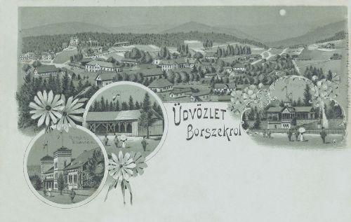 Borszék:zöldes kőnyomat.1898