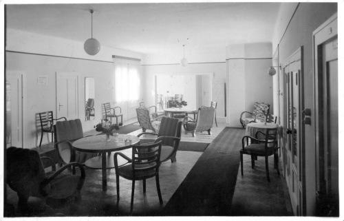 Borszék:Dragomir-Royal (46) villa belseje,1938.