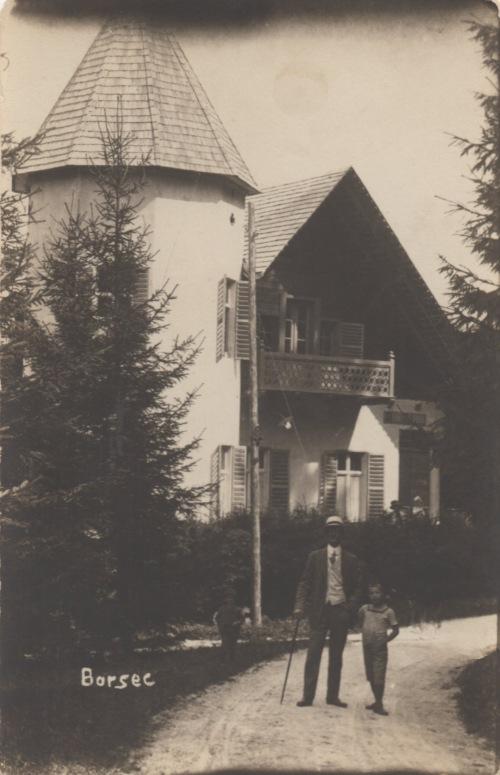 Borszék:Due Torri villa,1920 körül.