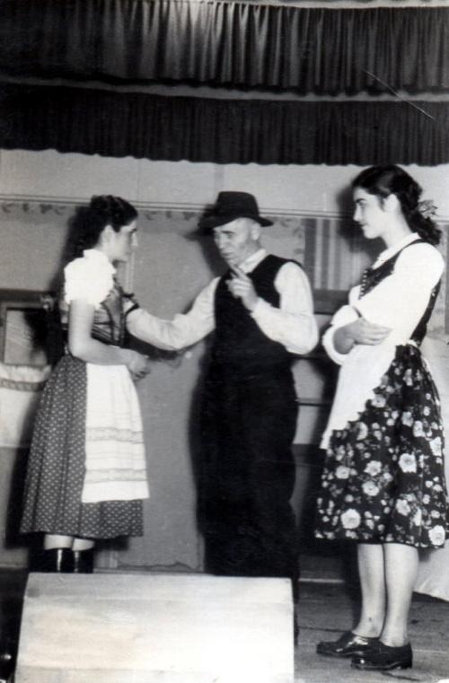 Borszék: színielőadás,1940 körül !
