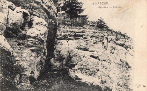 Jégbarlang,Aslané Nándor (1857-ből) és Kozma Vincze neve (1864-ből),1905.