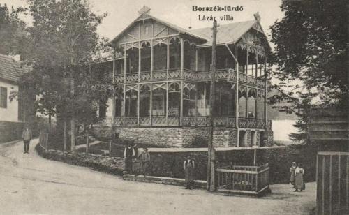 Borszék:gróf Lázár család villája (ma Borostyánkő,Bernstein villa).1916
