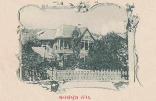 Borszék: Nefelejts villa,1905.