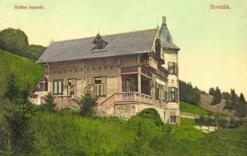 Borszék:Reiter villa,1907.
