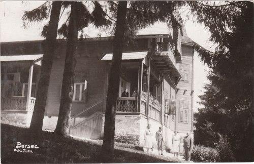 Borszék:Reiter (Tutu) villa,1930 körül.