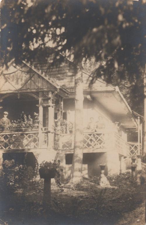Borszék:Vilma lak ,1930 körül.