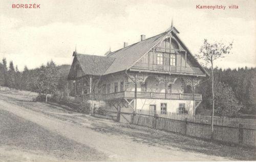 Borszékfürdő:Kamenitzky villa.1911