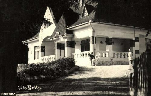 Borszék:Betty (Ceausescu) villa,1936.