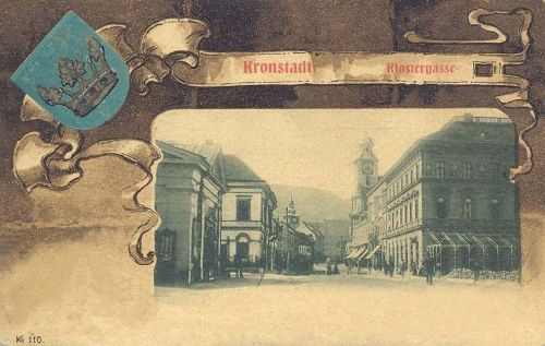 Brassó,kolostor utca 1901