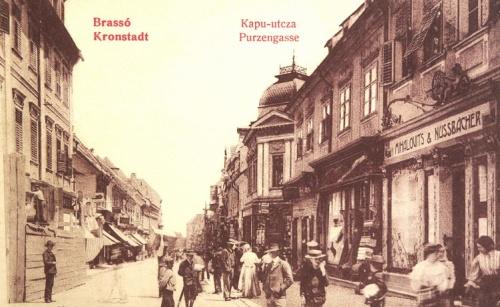 Brassó:Kapu utca.1909