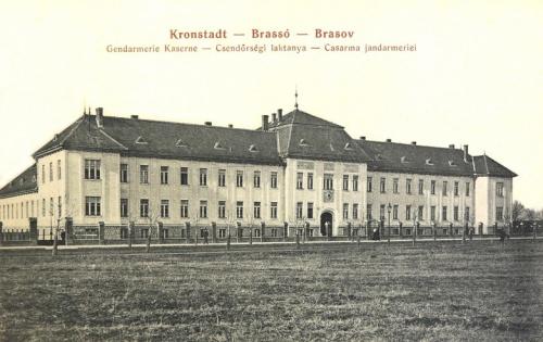Brassó:csendőr laktanya.1910
