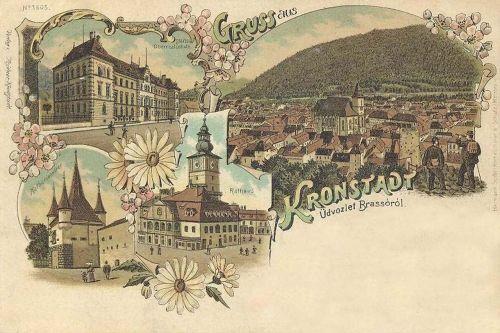 Brassó.kőnyomat 1899