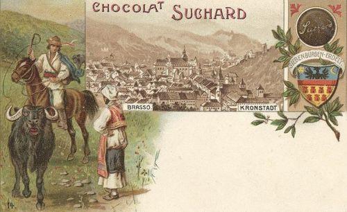 Brassó:lito,Suchard csoki reklám 1900