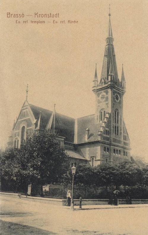 Brassó:1892-ben épült eklektikus stilusú református templom.1907