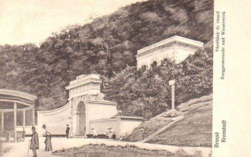 Brassó:Vársétány és Vizmű.1914