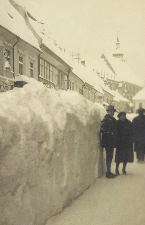 Brassó:januári hó,1923.