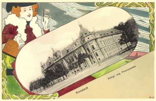 Brassó:Magyar Királyi Pénzügyőri palota,1901.