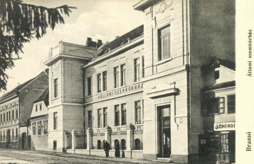 Brassó:állami szemkorház,1914.