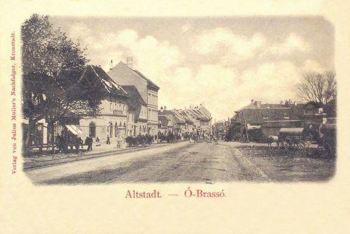 Brassó:régi belváros.1902