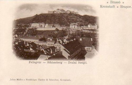 Brassó:vár.1902