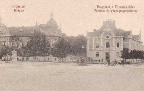 Brassó:Főposta és Pénzügyigazgatóság.1908