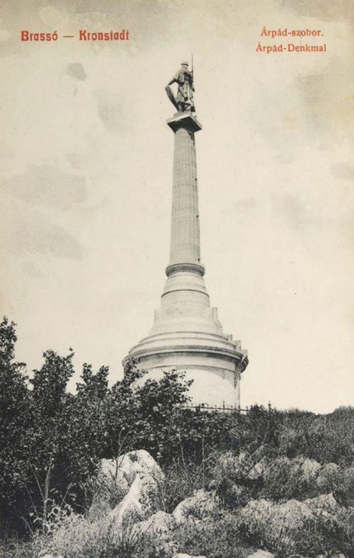 Brassó:Árpád vezér szobra.1908