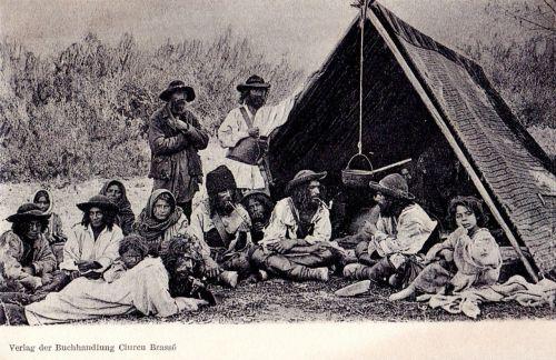 Brassó környéki sátoros cigányok.1903