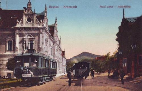 Brassó:Rezső körút.1912