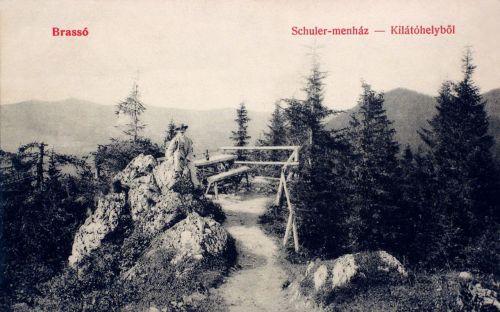 Brassó:Schuler menedékházi kilátó.1908