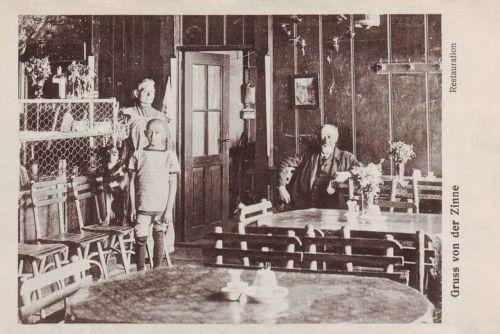 Brassó:étterem belső.1915