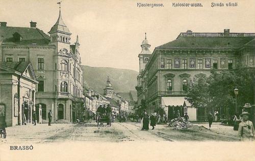 Brassó:Klastrom utca.1904