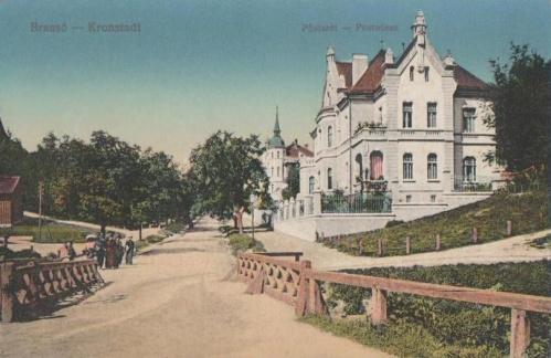 Brassó:Postaréti villák.1916