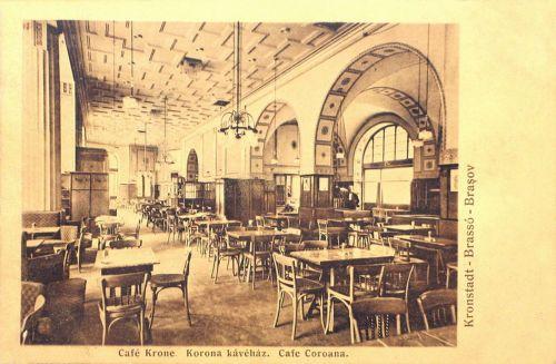Brassó:Korona kávéház.1911