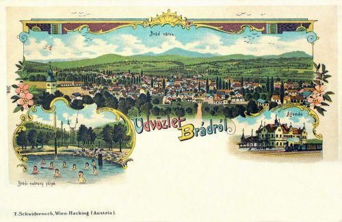 Fenyőfalva (Brád),fürdő,pályaudvar,kőnyomat 1899