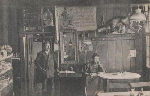 Brassó:vendéglő belseje.1911