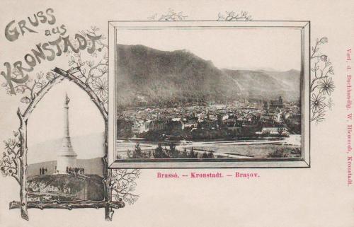 Brassó:Árpád emlékmű.1899