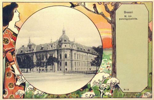 Brassó,Pénzügyi palota 1901