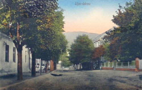 Újmoldova:Fő utca.1912
