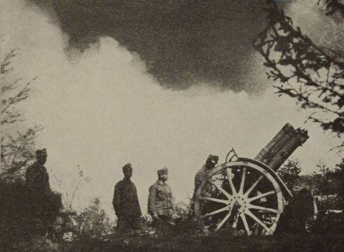 Cifrasarok (1307 m):a Magyar Királyi 37 honvéd ezred tüzérei,1916 november elején ez volt az utolsó menedékhely,mivel a többit elfoglalta az ellenség!